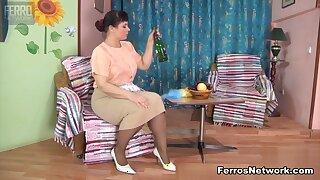 MaturesAndPantyhose Video: Kathleen B plus Nicholas